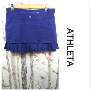 ATHLETA stripe skort